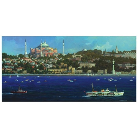 Anatolian Puzzle Anatolian 1500 Parça Puzzle Ayasofya Renkli